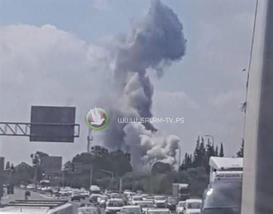 انفجار بمستودع تابع للصناعات العسكرية الإسرائيلية