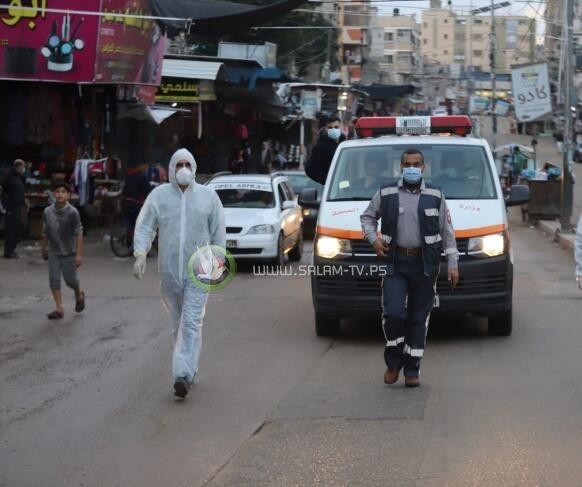 غزة تسجل 8 وفيات و579 إصابة جديدة