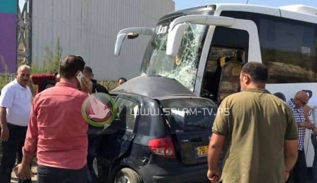 مصرع فتاة في حادث سير مروع بين طولكرم و نابلس