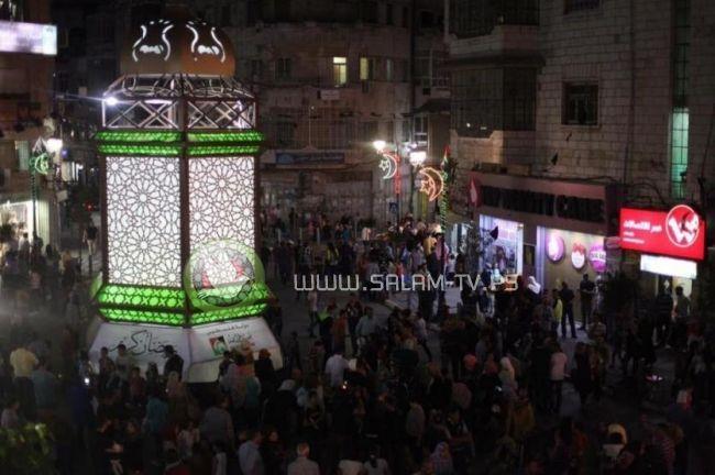 بلدية رام الله تعلق كافة المظاهر الاحتفالية لشهر رمضان حدادا على أرواح الشهداء