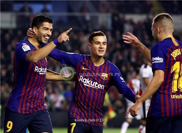 برشلونة ينجو من فخ فاليكانو بسيناريو دراماتيكي