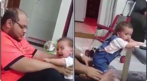 الأمن السعودي يلقي القبض على الأب الذي يعذب طفلته