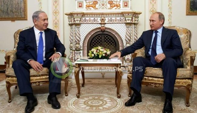 نتنياهو سيبحث مع بوتين ازالة ايران من سوريا