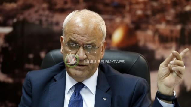 عريقات: المطلوب الآن حل قضايا غزة بشكل جذري