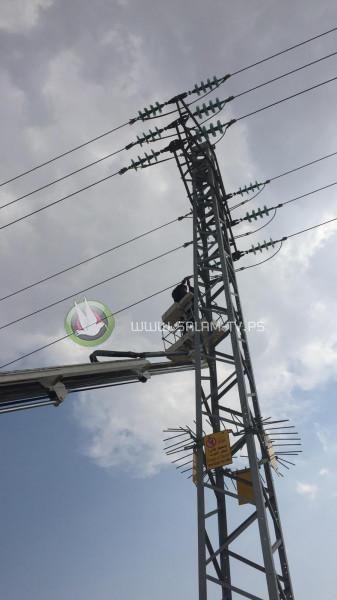 فعاليات كفر اللبد وبلدية بلعا تجتمع مع محافظ طولكرم عصام أبو بكر لمتابعة إشكالية الكهرباء