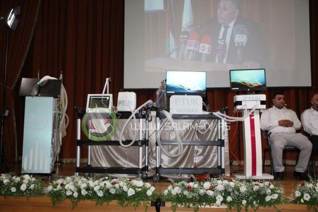 """جهاز """"خضوري"""" للتنفس الاصطناعي.. إبداع هندسي وسفير فلسطين للعالمية .. فيديو"""