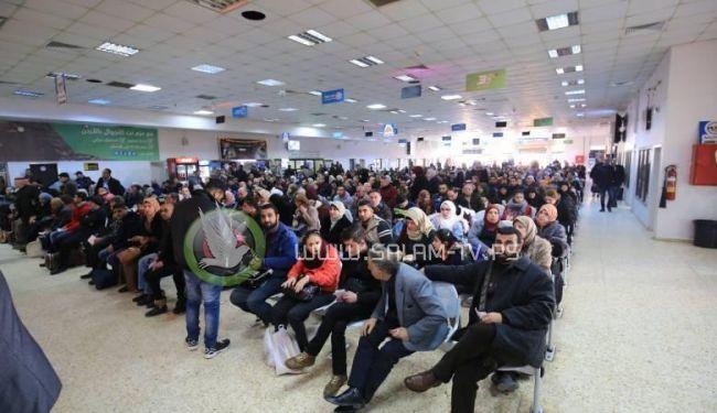 45 ألف مسافر تنقلوا عبر معبر الكرامة الأسبوع الماضي