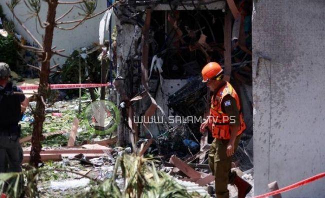 إصابة 8 إسرائيليين برشقة صاروخية مكثفة في أسدود