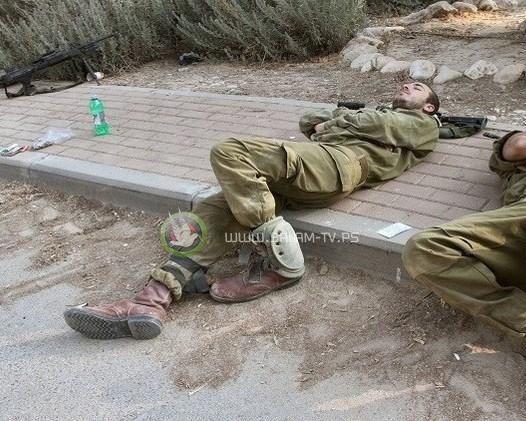 إصابة 50 جنديا إسرائيليا بوعكة صحية