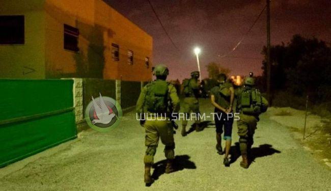 الاحتلال يعتقل 5 مواطنين من محافظة طولكرم