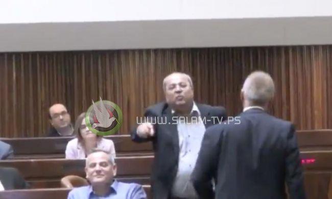 فيديو   مشادة كلامية بين الطيبي ونتنياهو في الكنيست بسبب أحداث غزة