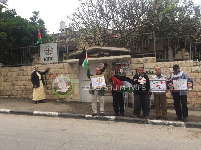 طولكرم: وقفة دعم ومساندة للأسرى في سجون الاحتلال .. شاهد الفيديو
