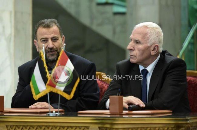 """""""لقاء ثلاثي"""" السبت في القاهرة لإعلان جدول تنفيذ المصالحة"""