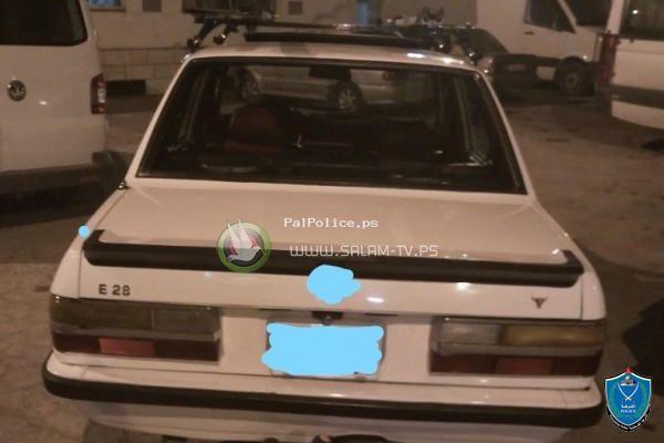 الشرطة تضبط 5 مركبات تزعج المواطنين بنابلس