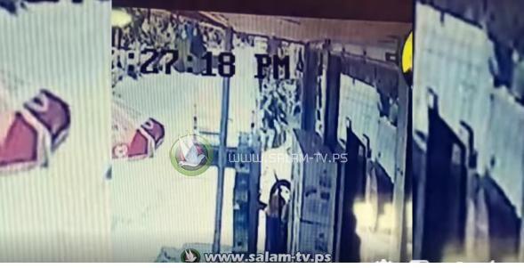 قوات الاحتلال تختطف شاباً من مخيم نور شمس شرق طولكرم - شاهد الفيديو