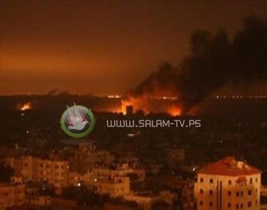 إستشهاد مواطن وإصابات بقصف على القطاع