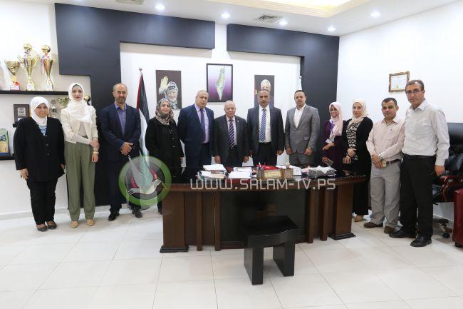 """""""خضوري"""" و""""التربية"""" تعقدان أولمبياد الرياضيات الفلسطيني لعام 2018 وتكرمان الطلبة الفائزين عام 2017"""