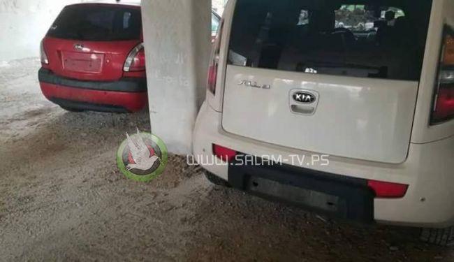 سرقة 40 لوحة تسجيل سيارة خلال ساعات في رام الله