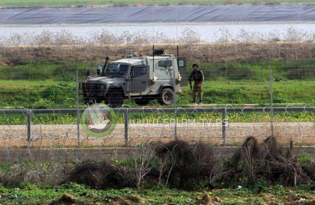 اطلاق نار على المزارعين جنوب غزة