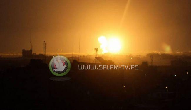 غزة خسائر مادية بقيمة 3 ملايين دولار جراء غارات الاحتلال