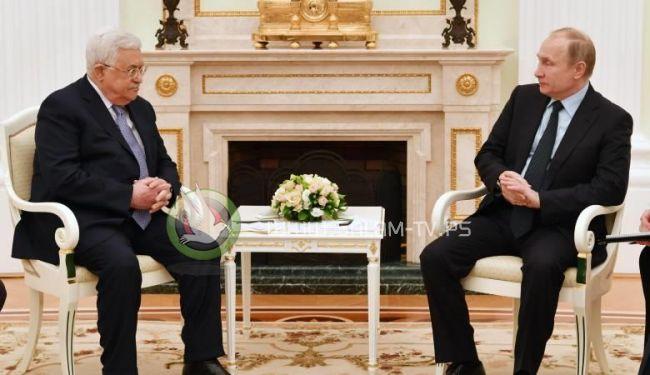 الرئيس أبلغ بوتين بان الدور الأمريكي غير مقبول كوسيط في عملية السلام