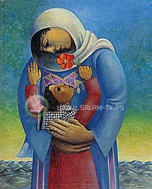فرحة أم أسيرين بخروج أحد أبنائها - بقلم :عبير حامد