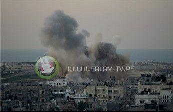 فجراً- غارة إسرائيلية تستهدف موقعا شمال غزة