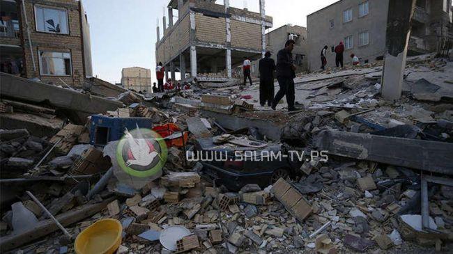 ارتفاع عدد ضحايا الزلزال الذي ضرب غرب إيران والعراق إلى 164 قتيلاً وفلسطين تتاثر ـ فيديو