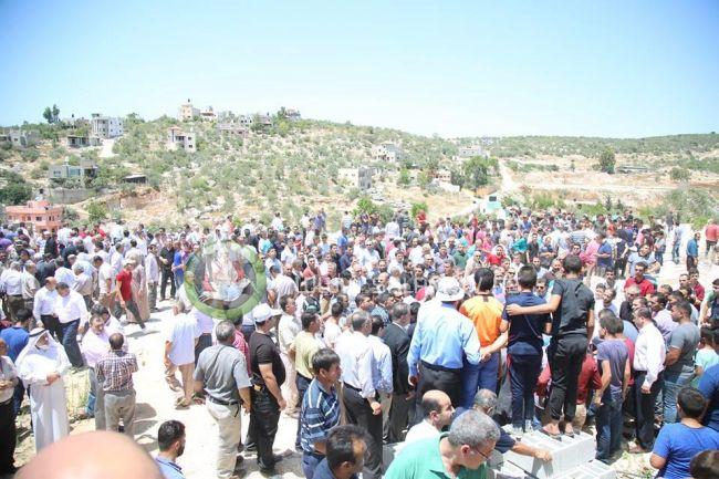 قفين: تشييع جثمان ماجد كتانة بمشاركة رسمية وشعبية واسعة
