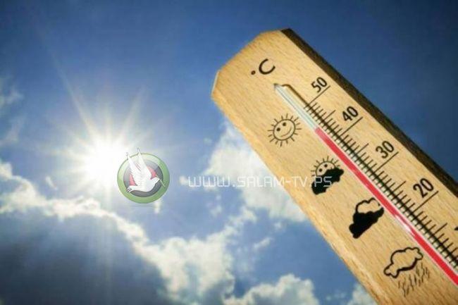الطقس: استمرار الأجواء الحارة