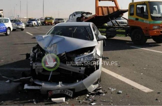 مصرع طفل ومصاب بحادثي سير في جنين وطوباس