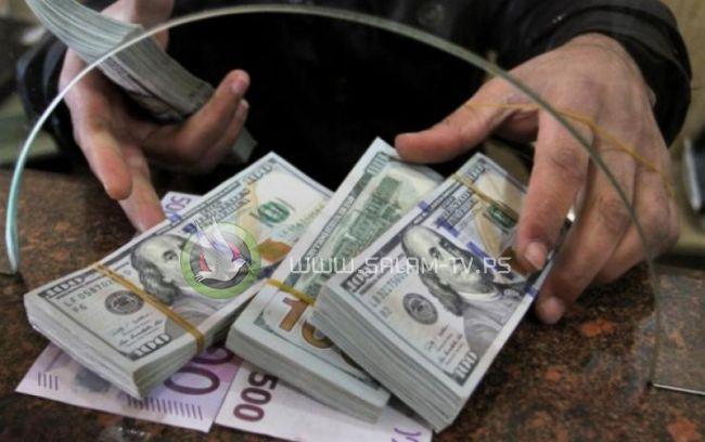 امن حماس يصادر اموالا من احد البنوك بغزة