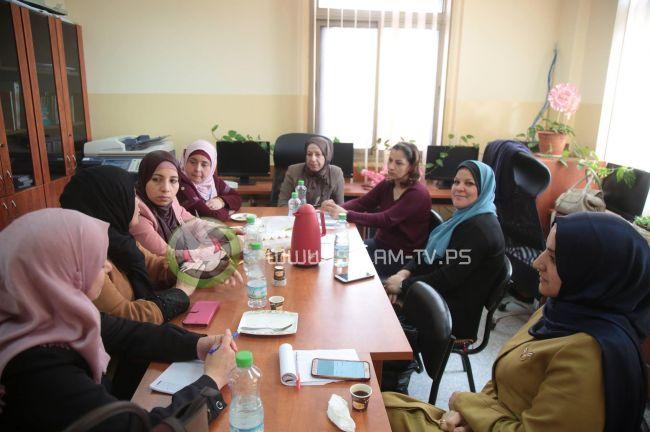 طولكرم : اجتماع لشبكة حماية النساء لمناقشة عدد من القضايا التي تتعلق بعمل الشبكة
