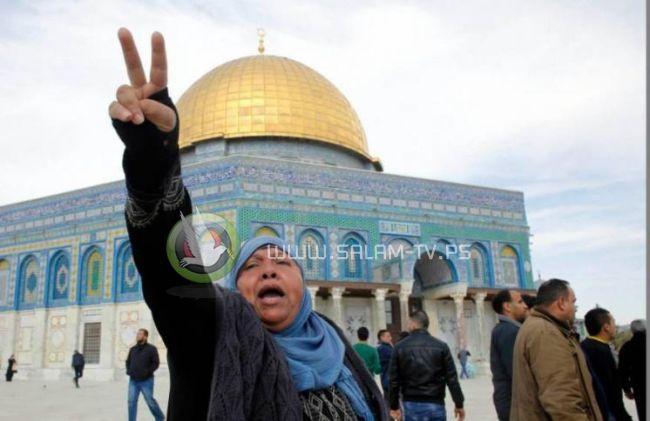 إعلان النفير العام لاجل المسجد الاقصى