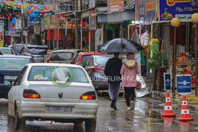 82.4 بالمئة نسبة هطول الأمطار على غــزة