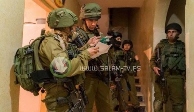 الاحتلال يعتقل 11 مواطنا من الضفة