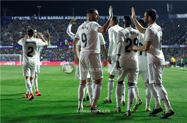 الفيديو يرجح كفة ريال مدريد على ليفانتي