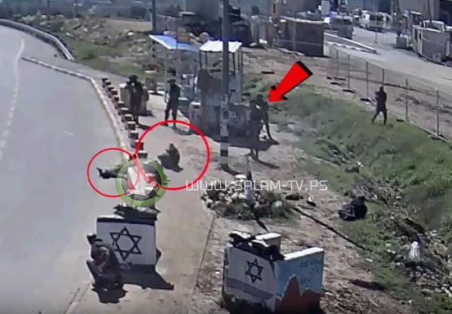 فيديو يوثق براءة اسير فلسطيني جريح من قتل جندي اسرائيلي