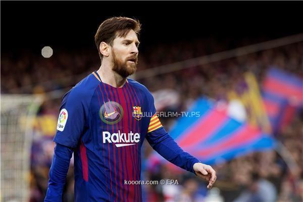 برشلونة يحسم موقعته امام الاتلتيكو بهدف ميسي
