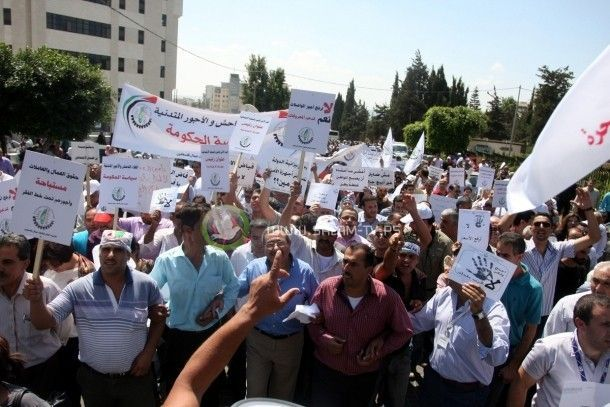 الإضراب يشل الحياة العامة في الضفة الغربية
