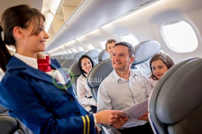 7 نصائح للحصول على رحلة جوية مريحة!