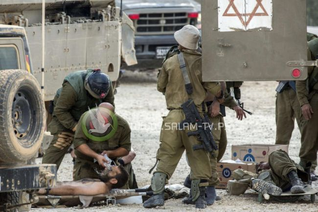 إصابة جندي إسرائيلي خلال نشاط عسكري على حدود غزة