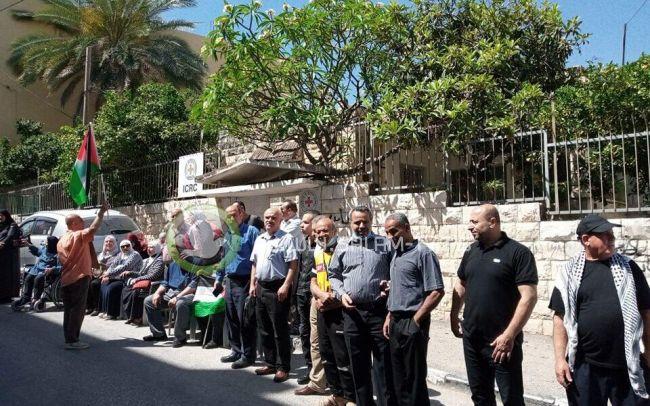 طولكرم: وقفة دعما للأسرى ورفضا للاعتقال الإداري