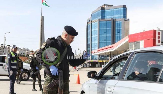 رام الله : القبض على 15 متعهداً خالفوا قرارات الطوارئ