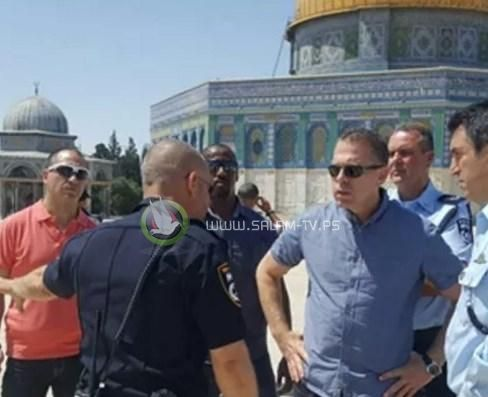 وزير الأمن الإسرائيلي يعلن تبني فرض تقسيم الأقصى