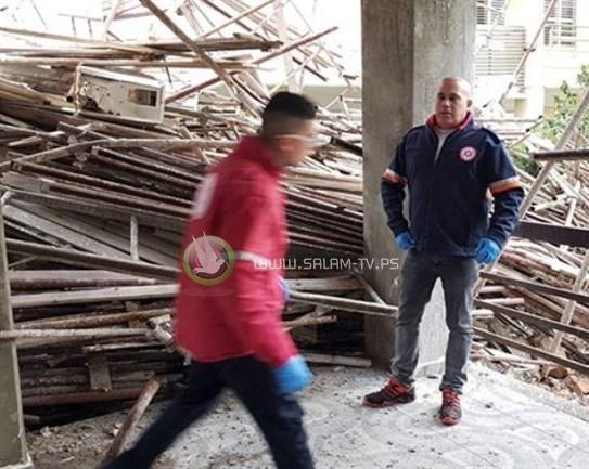مصرع عامل في موقع بناء بحيفا