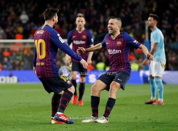 برشلونة ينتصر على سيلتا بهدفين ويواصل الصدارة