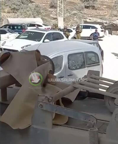 حدث في جماعين..المستوطنون أحرقوا منشار الحجر والأهالي ألقوا القبض عليهم