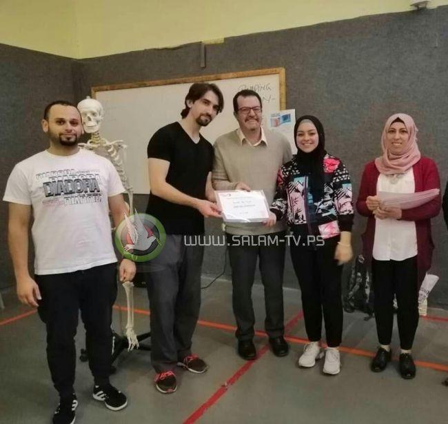 خضوري فرع رام الله تستضيف المدرب الدولي بودولانو ضمن ورشة عمل حول اللياقة البدنية