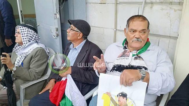 طولكرم: وقفة تضامنية مع الأسرى في سجون الاحتلال .. شاهد الفيديو